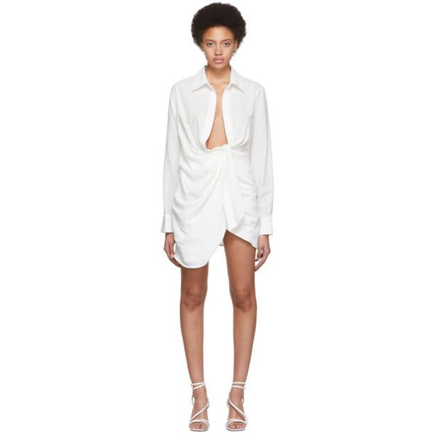 Jacquemus White 'La Robe Bahia' Dress