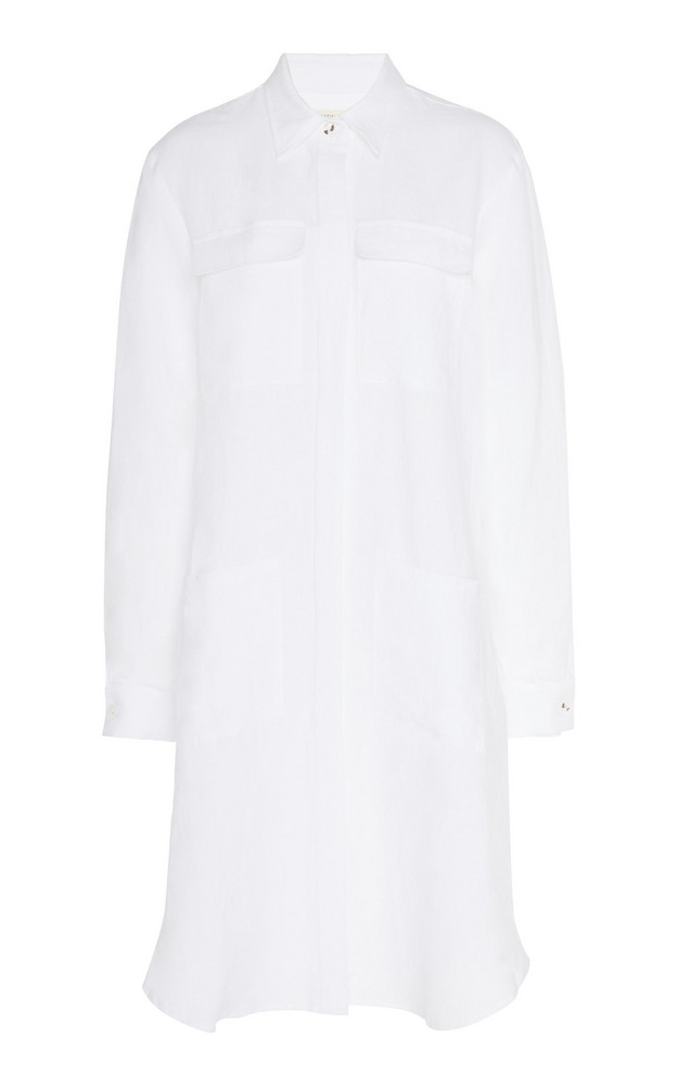 Matin Is Linen Shirt Dress in white