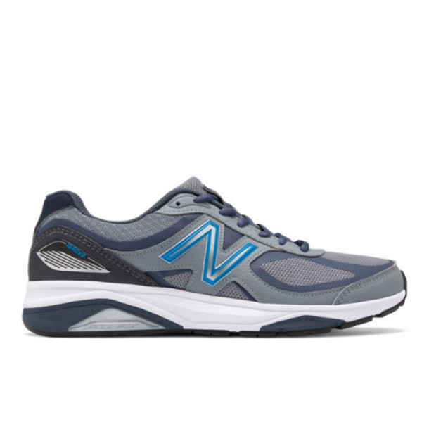 New Balance 1540v3 Made in US Men's Motion Control Shoes - Grey/Black (M1540MB3)