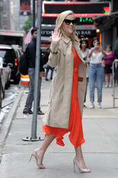 dress,red dress,red,reese witherspoon,celebrity,spring outfits