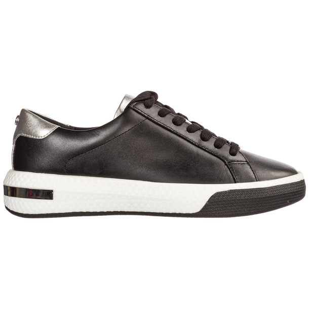 Michael Kors Shoes Leather Trainers Sneakers Codie in black / silver