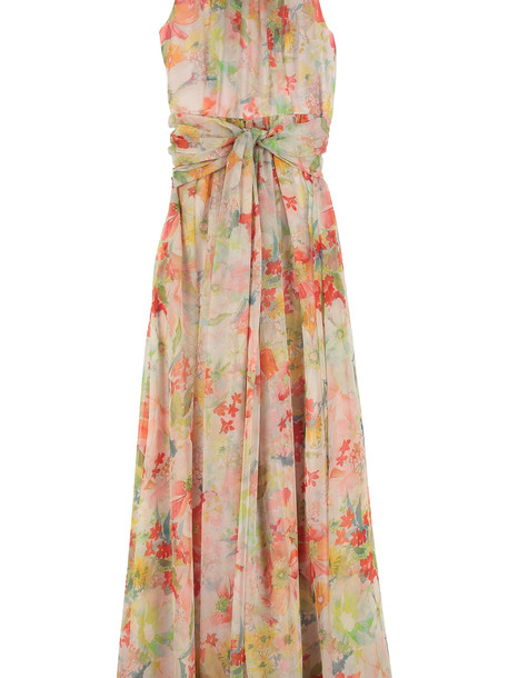 Max Mara Studio Mintea Silk-georgette Dress