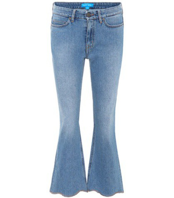 M.i.h Jeans Marty high-rise flared jeans in blue