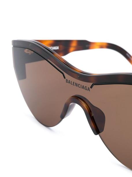 Balenciaga Eyewear Ski Cat sunglasses in brown