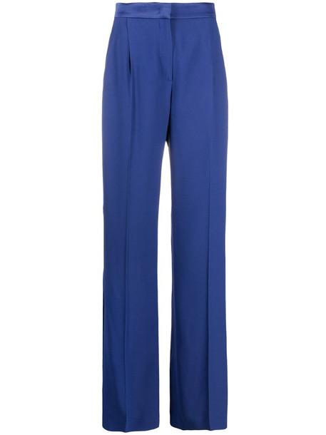Alberta Ferretti high-waisted trousers in blue