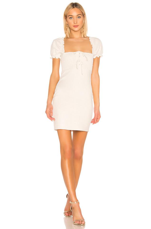 ASTR the Label Nina Dress in white