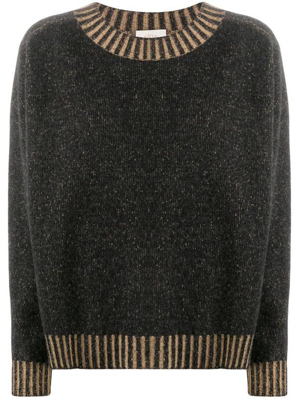 Altea crew-neck knit jumper in brown
