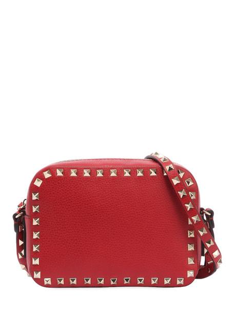 VALENTINO GARAVANI Rockstud Leather Camera Bag