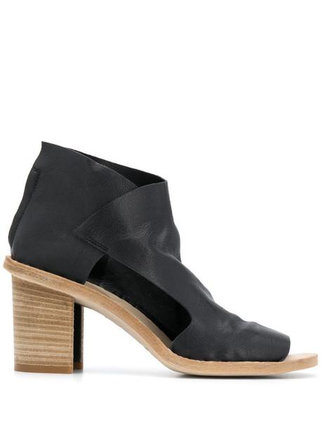 Officine Creative Sidoine 80mm open toe sandals in black