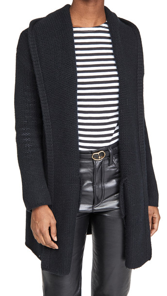 Sablyn Collette Cozy Cashmere Long Sweater in black