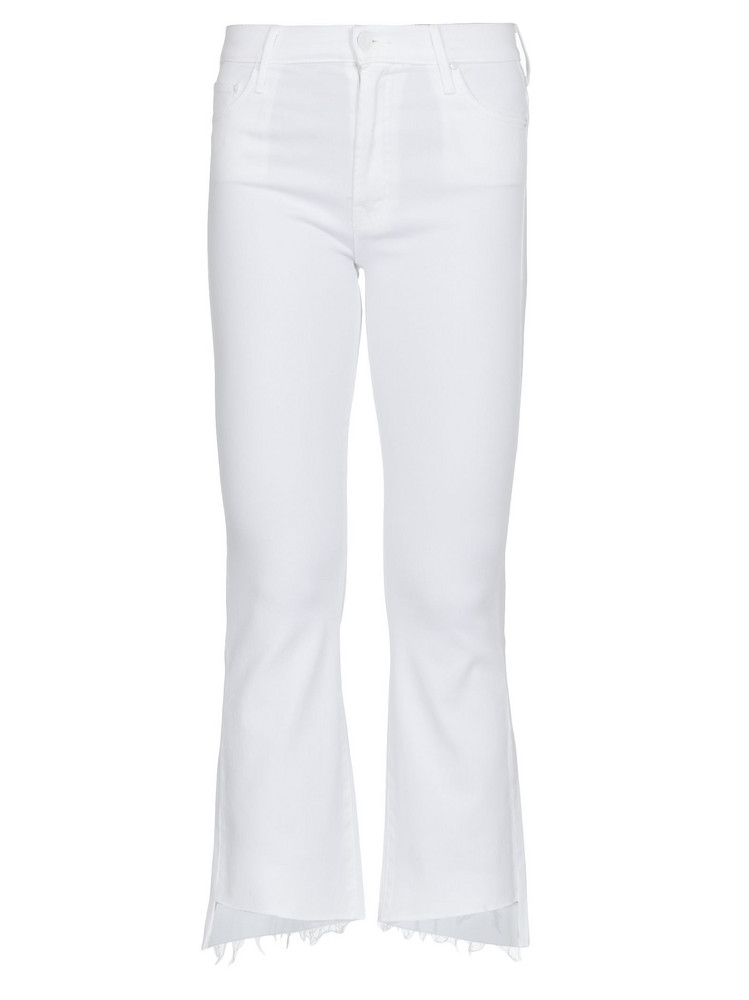 Mother Insider Jeans in white