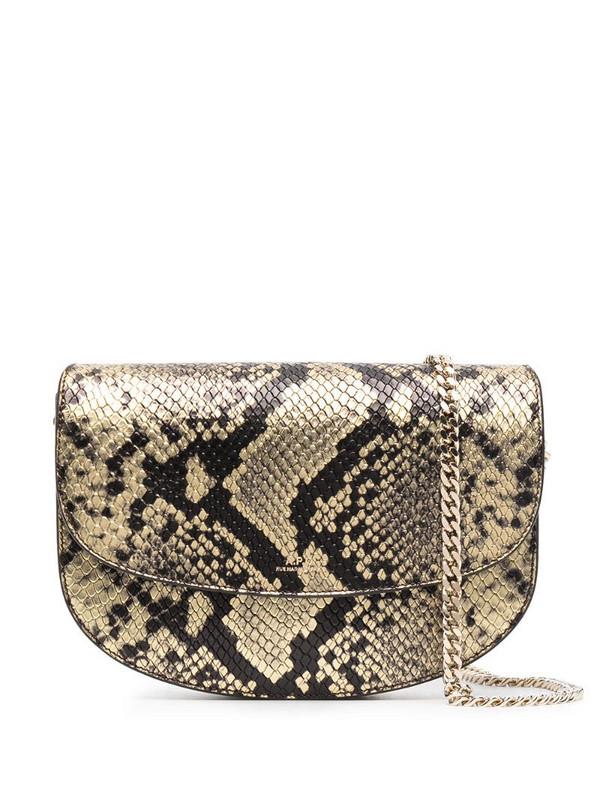 A.P.C. Genève satchel bag in gold