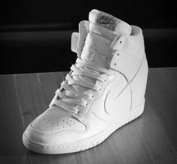 nike air force wedge sneakers