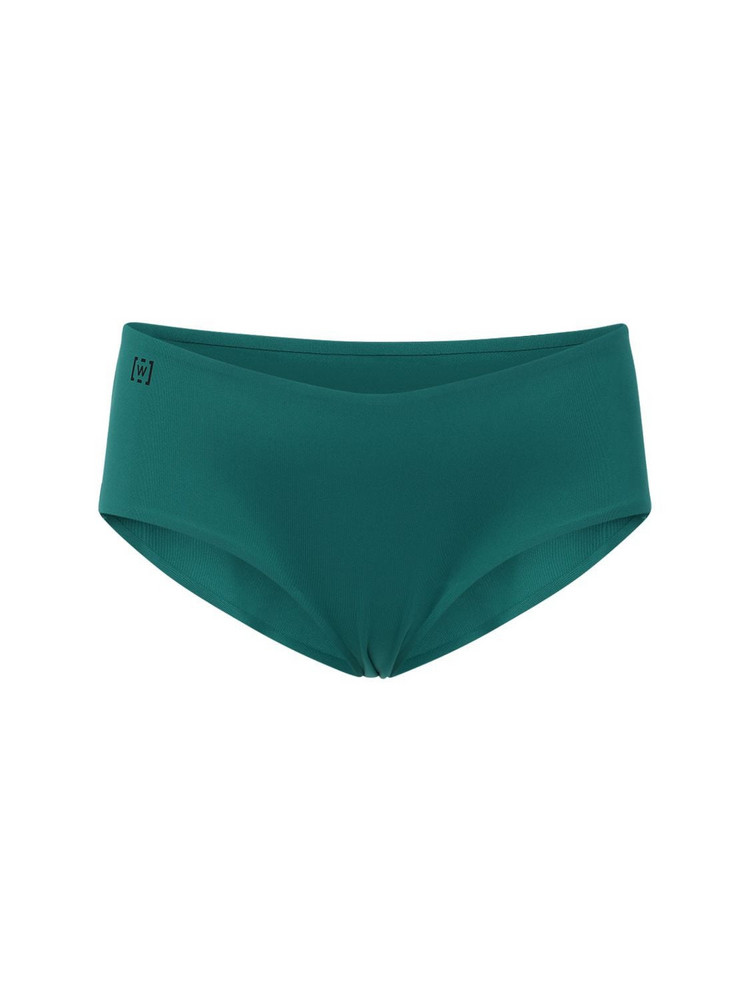 WOLFORD Cara Sustainable Lycra Bikini Bottoms in green