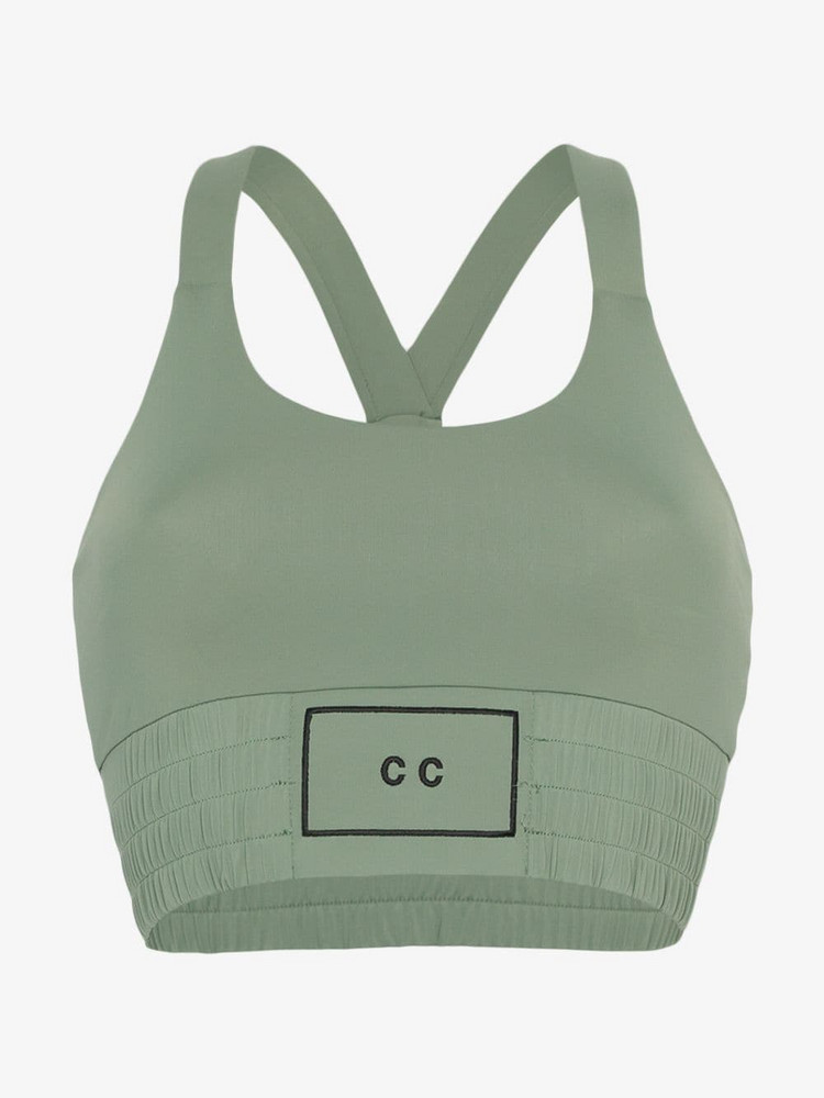 Charli Cohen Contender bra top in green