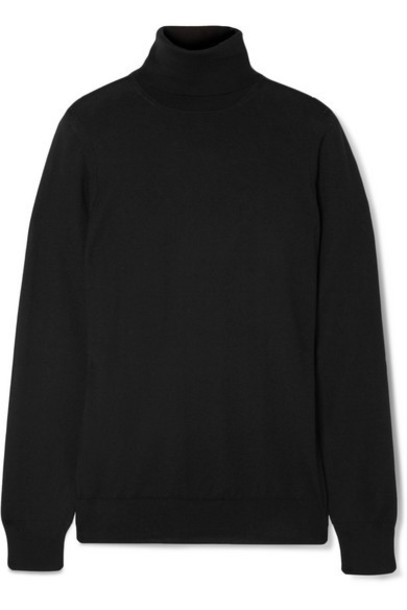 Loro Piana - Cashmere Turtleneck Sweater - Black
