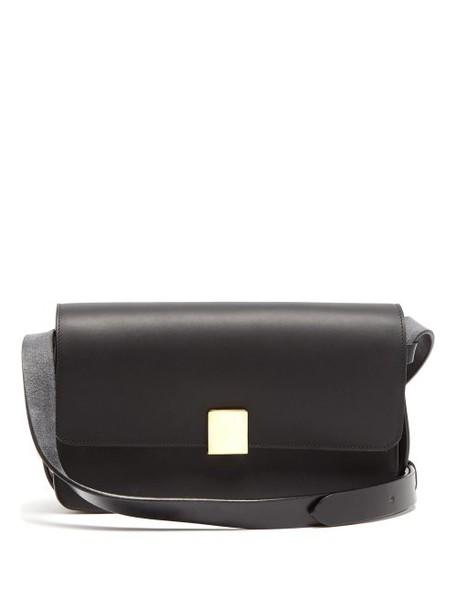 Ferian - Rye Leather Shoulder Bag - Womens - Black