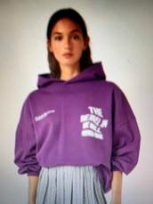 sweater,the rebel in me will never,purple,hoodie