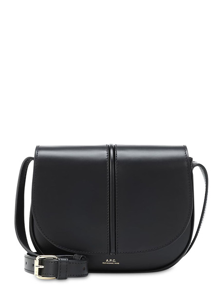 A.P.C. Betty Smooth Leather Bag in black