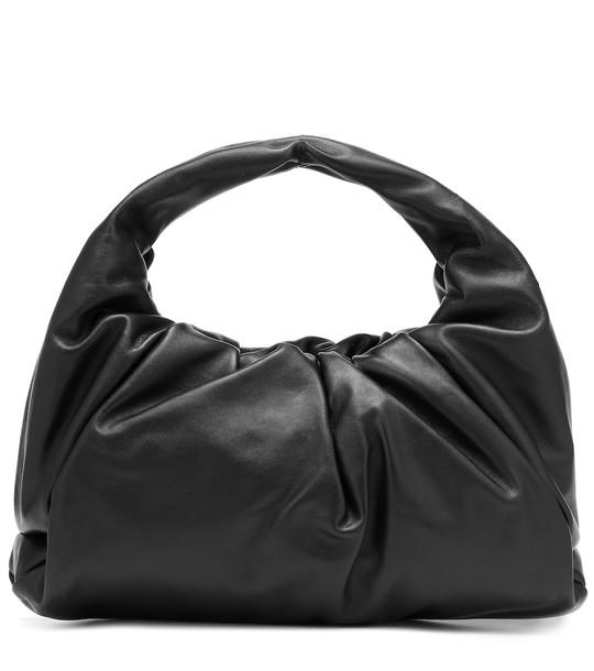 Bottega Veneta The Shoulder Pouch leather tote in black