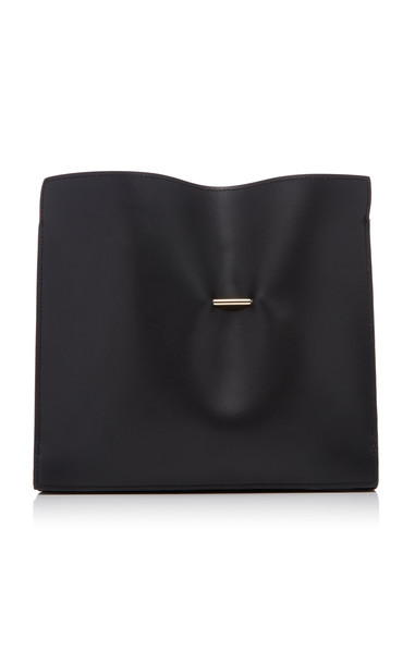 Khaore Cabinet Leather Clutch in black