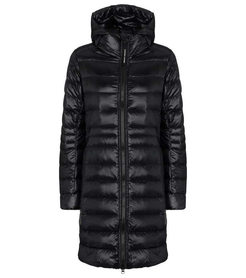 Canada Goose Cypress down coat in black