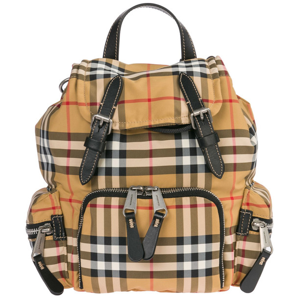 Burberry Rucksack Backpack Travel in yellow