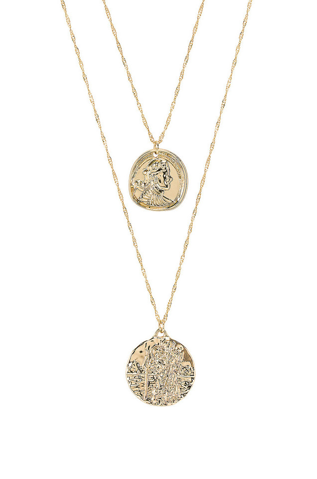 Amber Sceats X REVOLVE Athens Necklace in gold / metallic