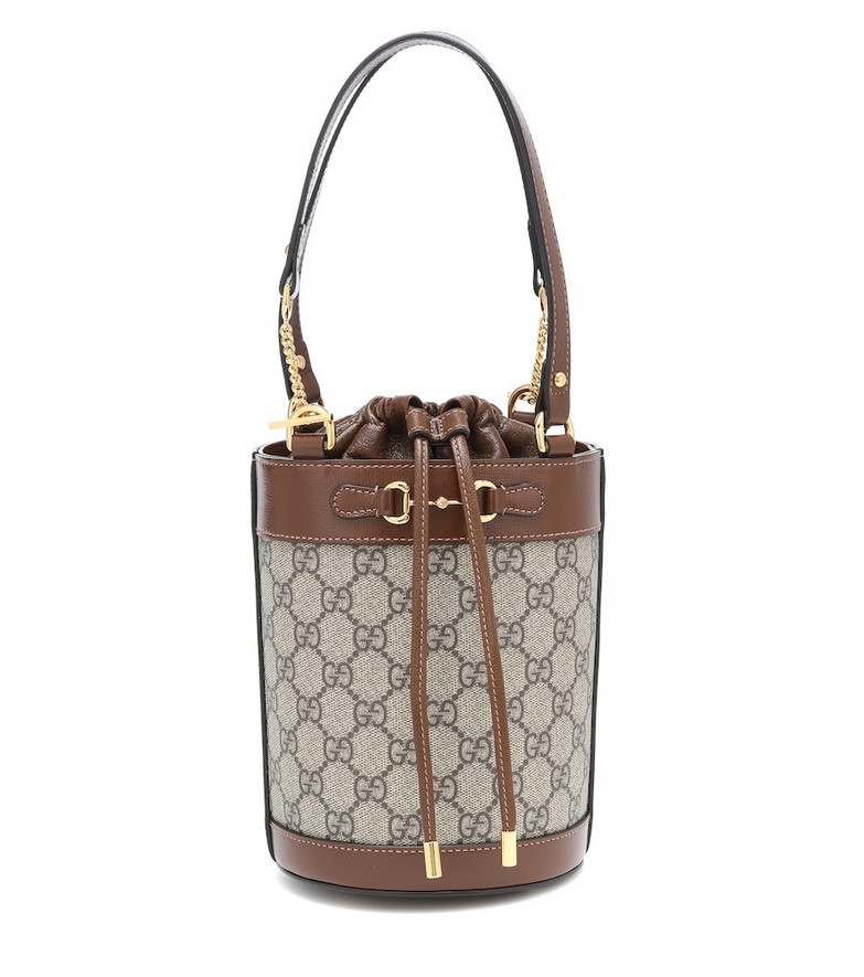 Gucci Horsebit 1955 Small bucket bag in beige