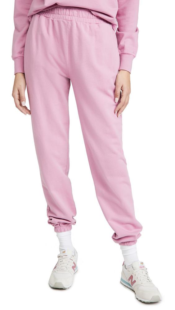 Year of Ours Boyfriend Sweatpants in pink