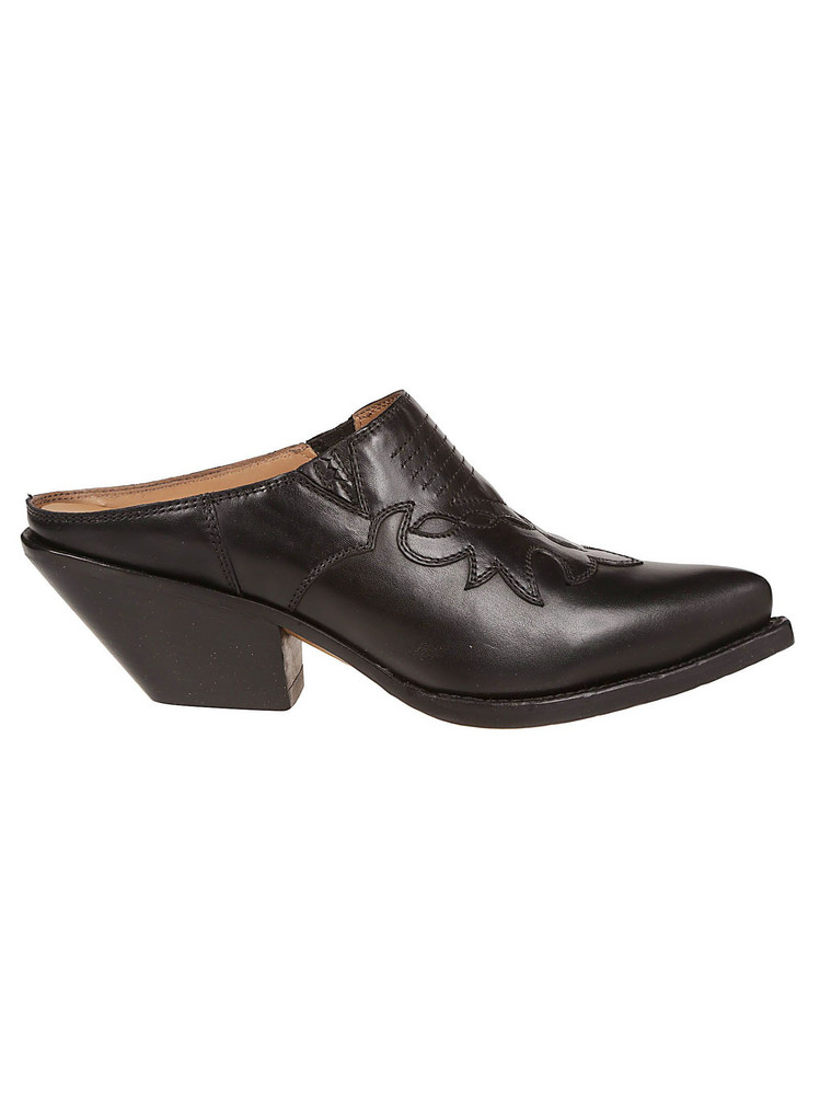 Buttero Detailed Loafers in nero