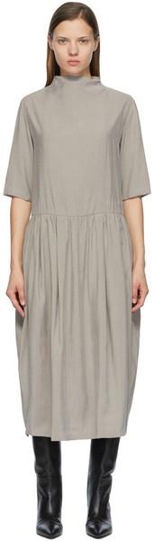 LOW CLASSIC Canvas Low Waist Dress in grey