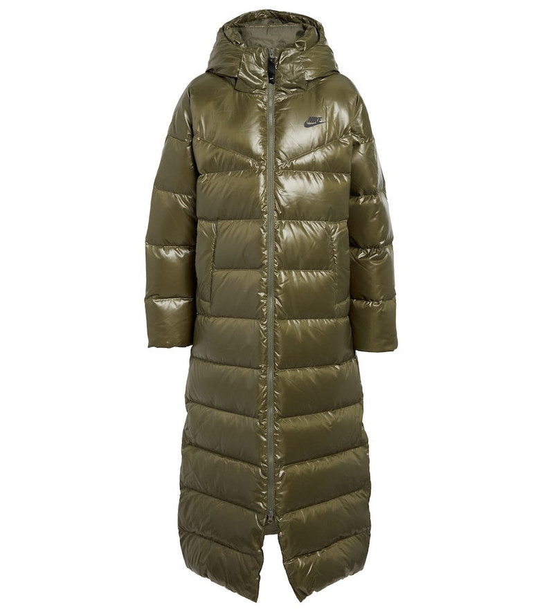 Nike Therma-FIT City Series parka in green