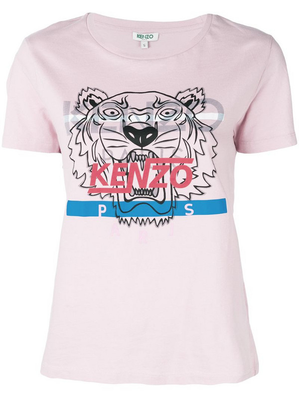 Kenzo Hyper Tiger T-shirt in pink