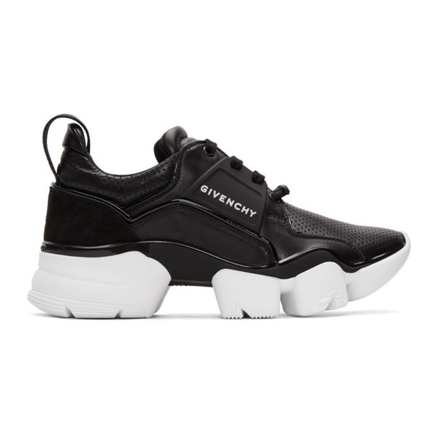 Givenchy Black & White Basse Jaw Sneakers