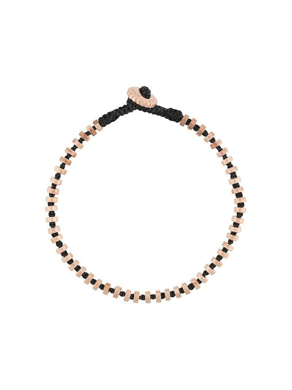 Tateossian Pulse macramé bracelet in gold