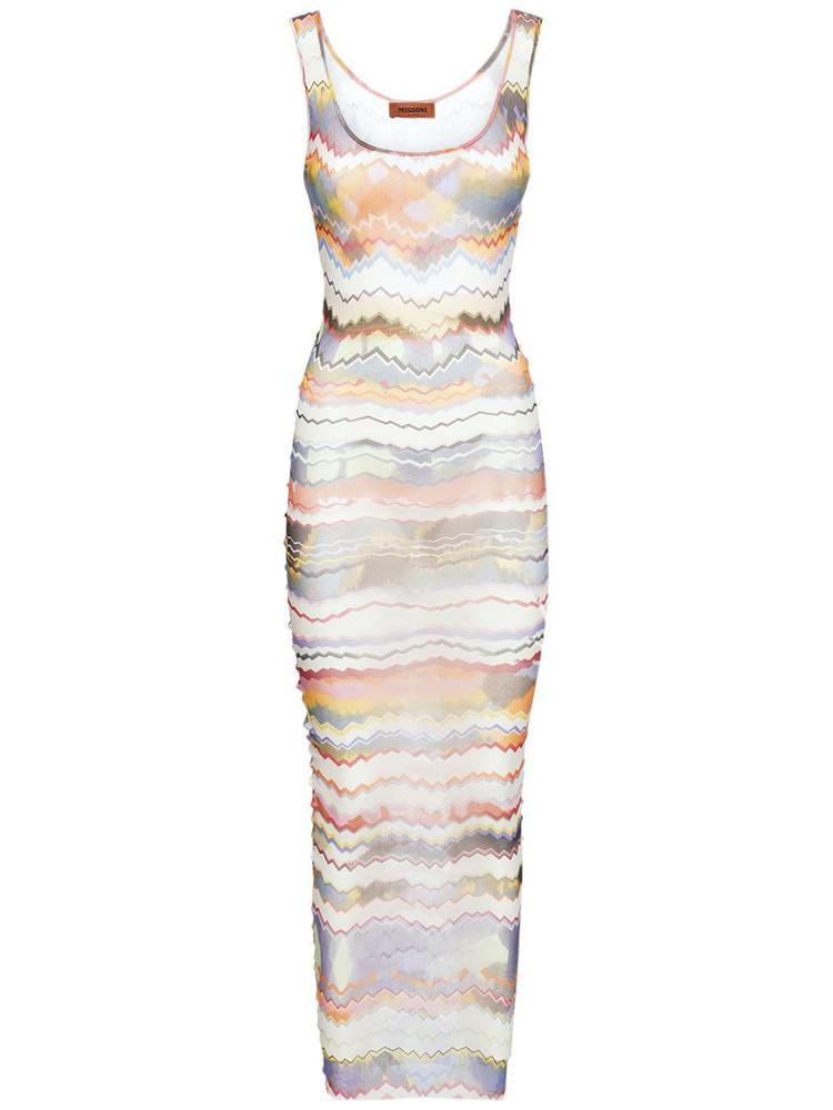 MISSONI Tulle Long Sleeveless Dress