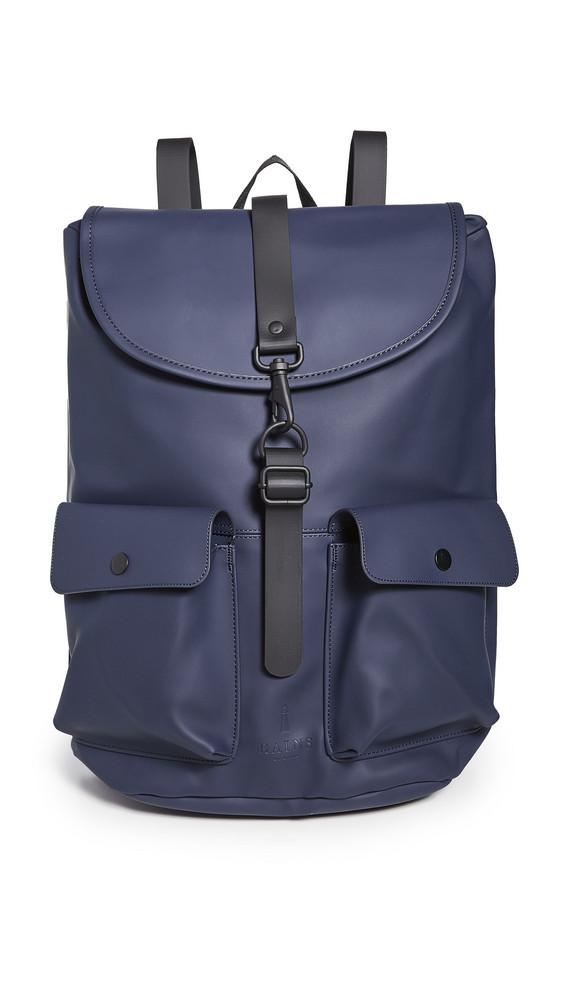 Rains Camp Backpack in blue