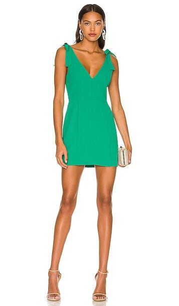 Amanda Uprichard Allora Dress in Green