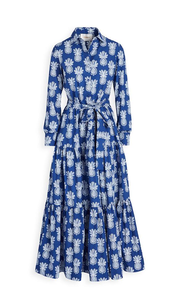 La Double J Bellini Dress in blue
