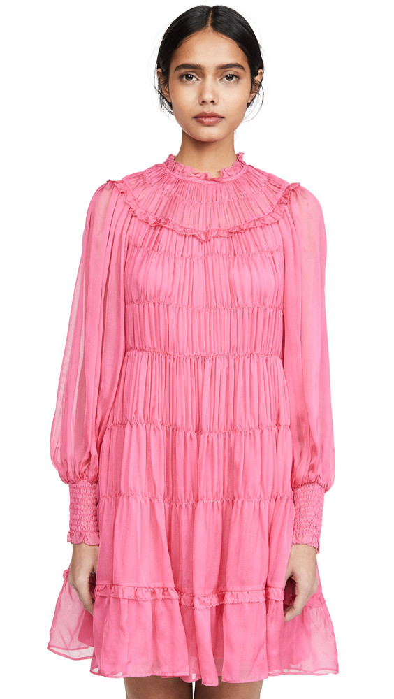 Ulla Johnson Emmeline Dress in fuchsia