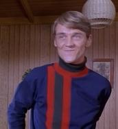 shirt,blue,red,stripes,long sleeves,turtleneck,turtleneck sweater