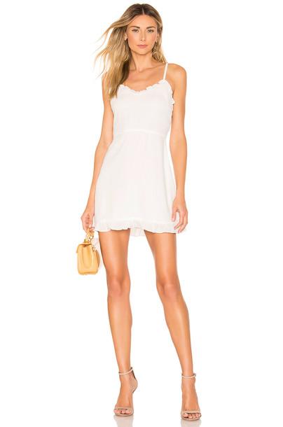 f3e5b933baa superdown Charlee Frill Cami Dress in white - Wheretoget