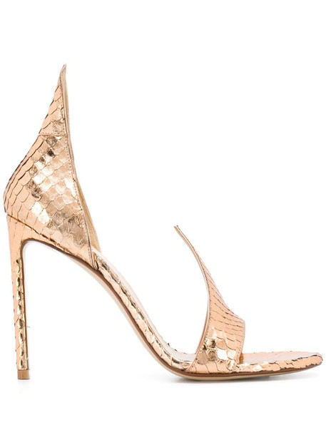 Francesco Russo flame sandals in pink