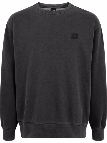 Supreme x The North Face embroidered logo sweatshirt - Black