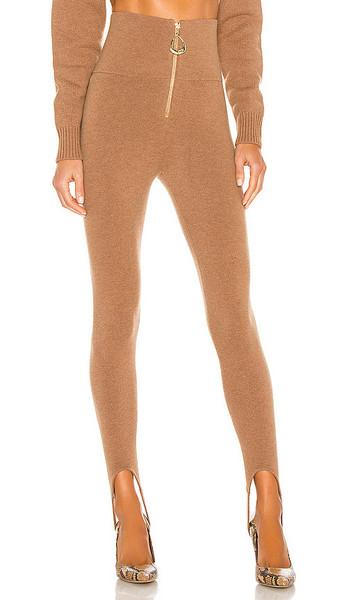 Divine Heritage x REVOLVE Stirup Legging in Brown in khaki