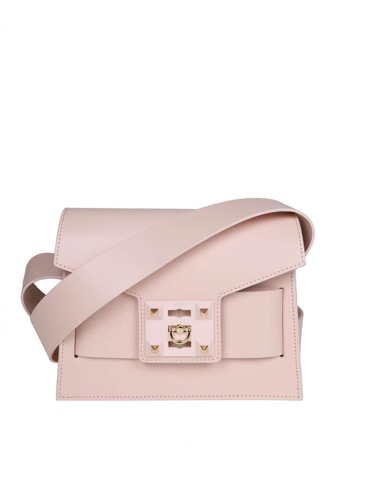 Salar Mila Bag In Skin Color Powder in pink