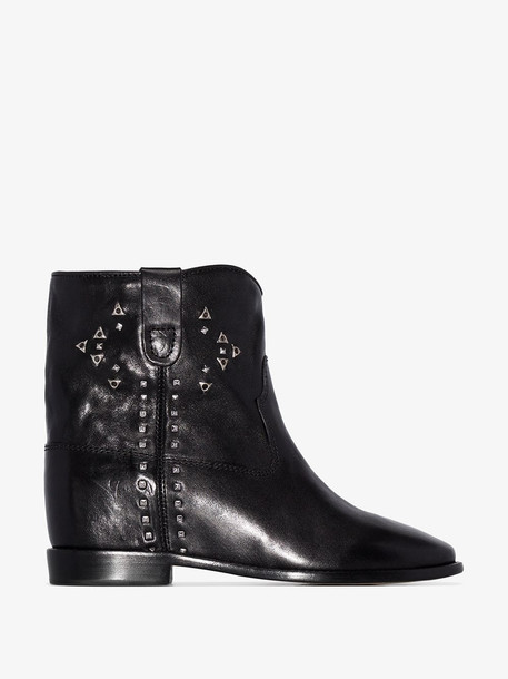 Isabel Marant Cluster ankle boots in black