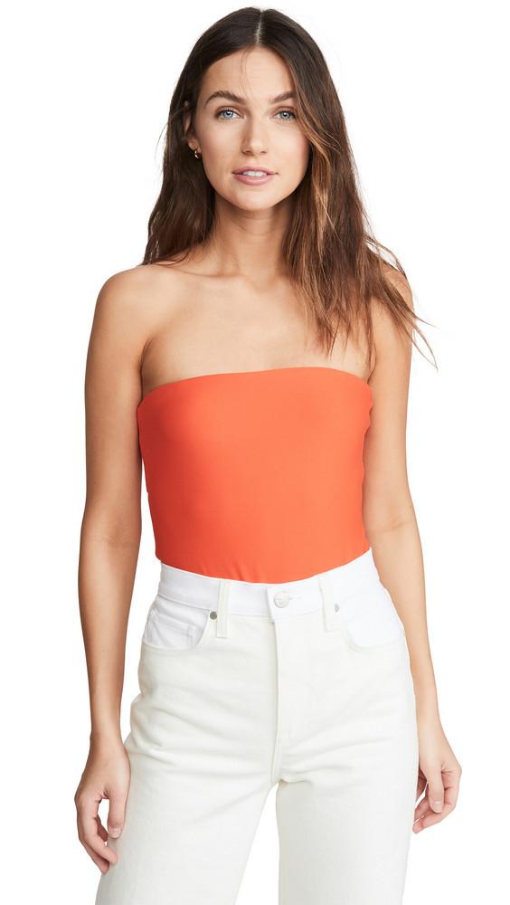 Alix Seton Thong Bodysuit in orange