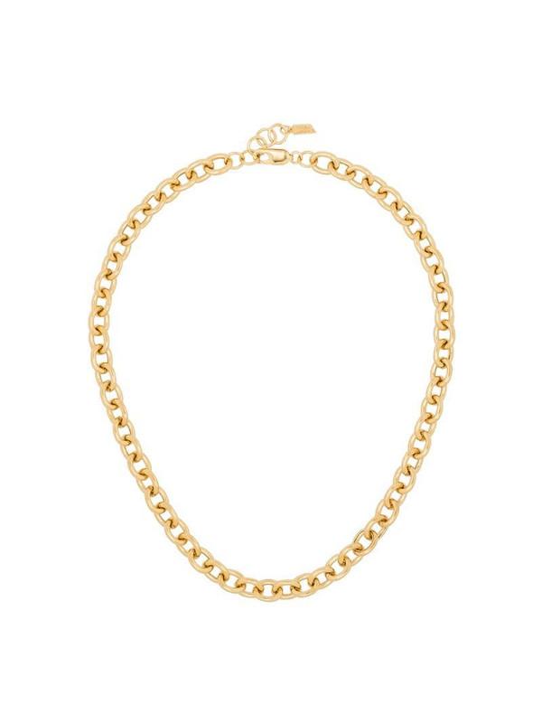 Loren Stewart gold-tone sterling silver necklace